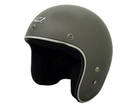 Rjays Sturgis Chrome Trim Titanium Helmet