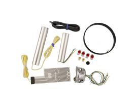 Heatdemon Harley Heated Grip Kit Chrome Switch