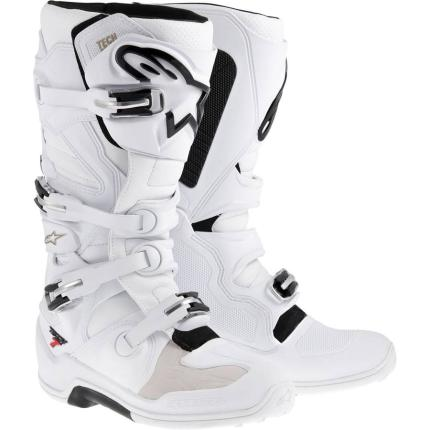 Alpinestars Tech 7 White Boots - Adult