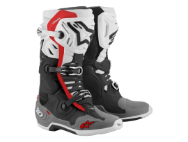 Alpinestars Tech 10 Supervent Black White Grey Boots