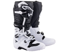 Alpinestars Tech 7 White Black Boots