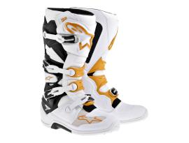Alpinestars Tech 7 Black Orange White Boots 2017