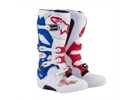 Alpinestars Tech 7 White Red Blue Boots 2017