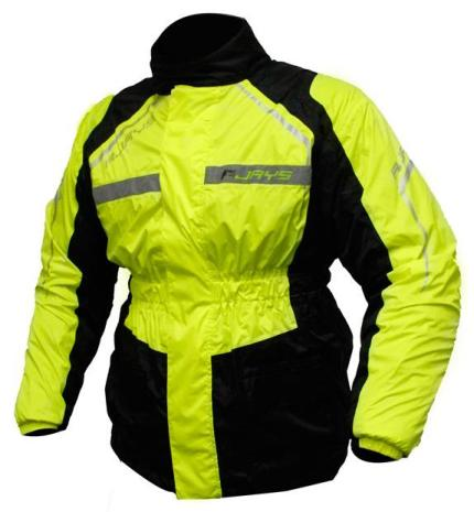 Rjays Tempest Black Hi Vision Jacket