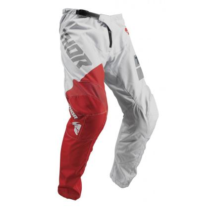 Thor 2019 Youth Sector Shear Light Gray Red Pants