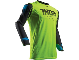 Thor 2017 Prime Fit Rohl Green Black Jersey