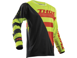 Thor 2018 Fuse Air Rive Lime Orange Jersey