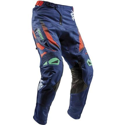 Thor 2018 Fuse Rampant Navy Teal Orange Pants