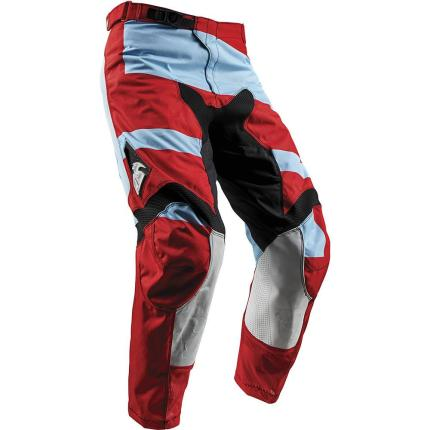 Thor 2018 Pulse Level Powder Blue Red Pants