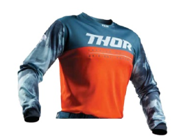 Thor 2019 Pulse Air Red Orange Slate Jersey