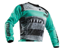 Thor 2019 Youth Pulse Savage Jaws Jersey