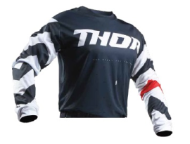 Thor 2019 Pulse Stunner Midnight White Jersey