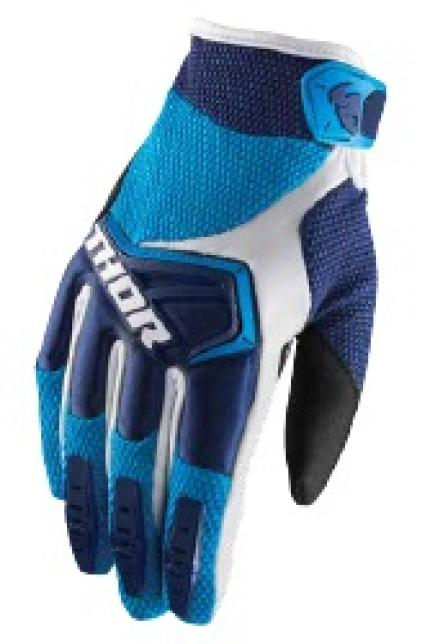 Thor 2019 Youth Spectrum Navy Blue White Gloves
