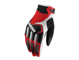 Thor 2019 Spectrum Red Black White Gloves