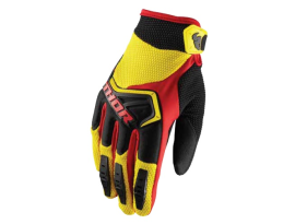 Thor 2019 Youth Spectrum Yellow Black Red Gloves