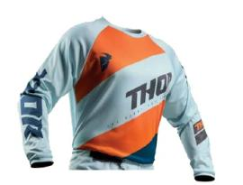 Thor 2019 Youth Sector Shear Sky Slate Jersey