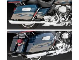 Vance and Hines TWIN SLASH MONSTER Slip-On Mufflers for Touring Models