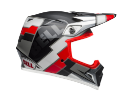 Bell MX-9 MIPS Twitch Replica Black and Red Helmet