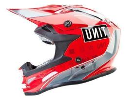 Unit Aerotech Candy Apple Red Helmet