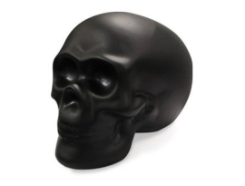 Unit Slavings Black Skull Money Box