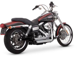 Vance & Hines Short Shot Staggered Dyna Chrome