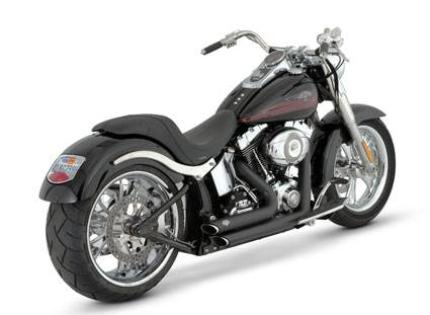 Vance & Hines Shortshot Staggered - Black