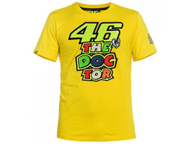 Valentino Rossi T-Shirt - Yellow