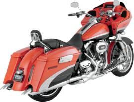 Vance and Hines TURN DOWN Slip-On Mufflers for Touring Models