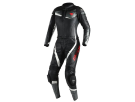 Dainese Veloster 2Pce Ladies Black Anthracite White Suit