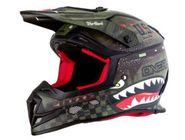 Oneal 2020 5 Series Warhawk Black Green Helmet