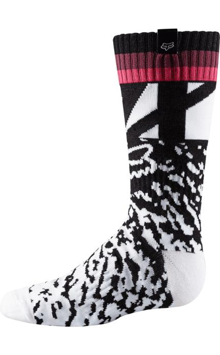 Fox 2018 Youth Girls Pink MX Socks