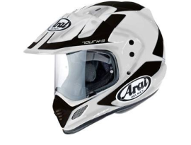 Arai XD-4 Explore White Black Helmet
