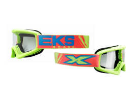 EKS Youth XGrom Limited Edition Liqud Flo Yellow Goggles