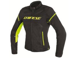 Dainese Air-Frame D1 Textile Ladies Black Yellow Jacket