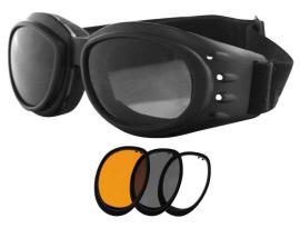 Bobster Cruiser Goggles Interchangeable