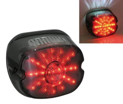 Zodiac Low Profile LED Taillight Smoke Lens Most 1989-2013