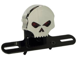 Zodiac Skull Tail Light