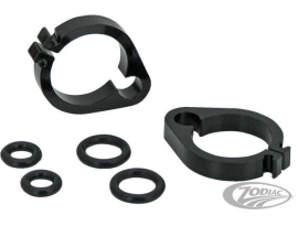 Zodiac Black Dual Throttle/ Idle Cable Clamp Kit