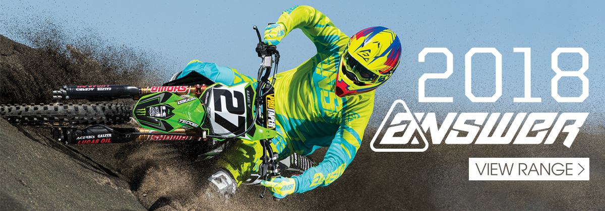 Answer 2018 MX Gear