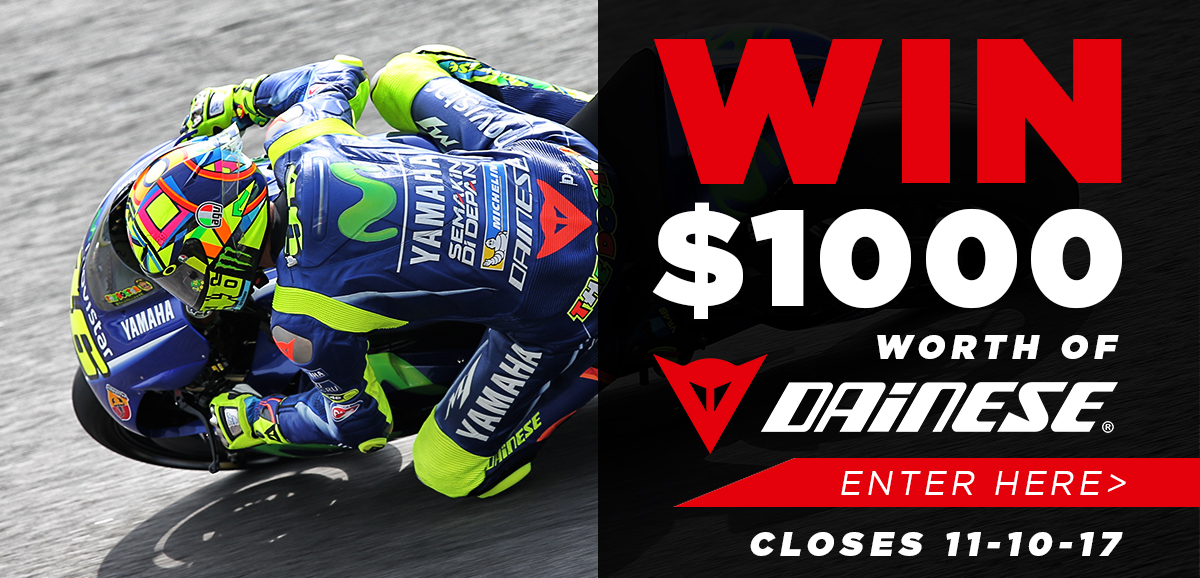 Win Dainese Competition