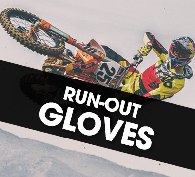 Thor run-out glove specials