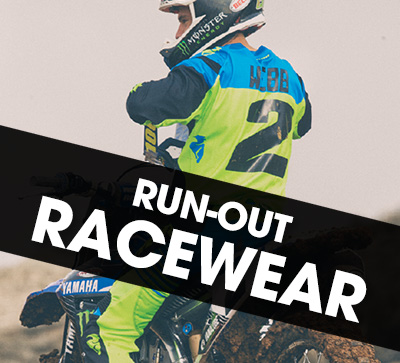 Thor run-out racewear specials