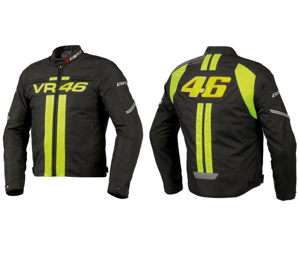 Motorcycle Jacket Dainese Vr46 Leather Jacket Mens