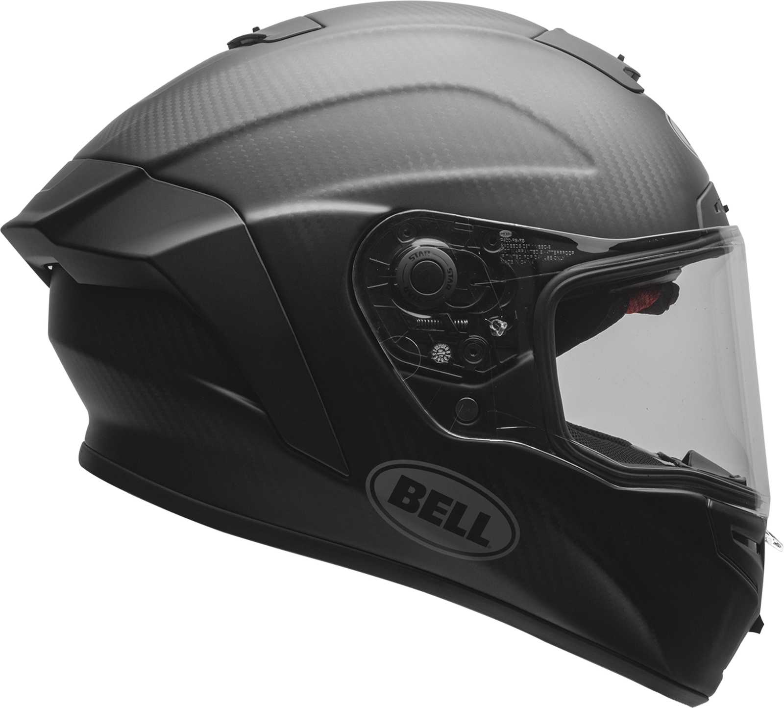 Bell Star Motorcycle Helmet Panovision Race Face Shields w// Tear-Off Posts