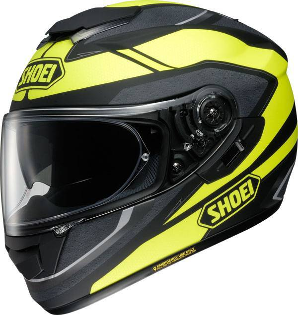 shoei gt air swayer tc 3 matte black yellow helmet. Black Bedroom Furniture Sets. Home Design Ideas