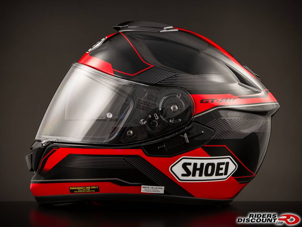 shoei gt air journey tc 1 red helmet motorcycle. Black Bedroom Furniture Sets. Home Design Ideas